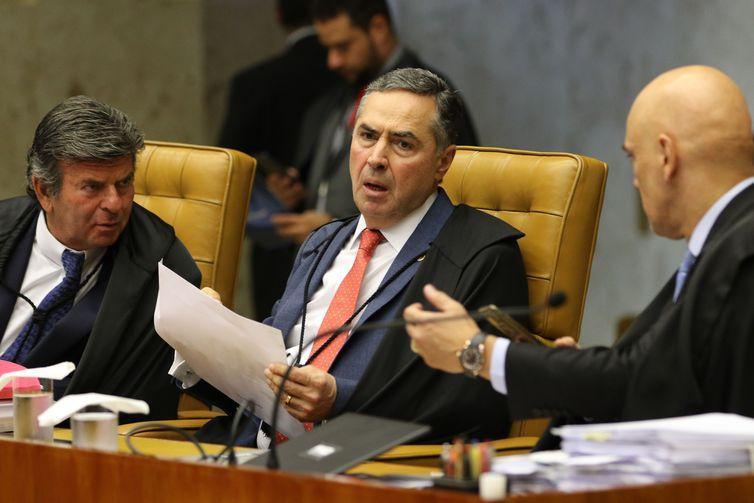 Maioria dos ministros do STF acompanhou o voto do ministro Luis Roberto Barroso - Arquivo/Agência Brasil