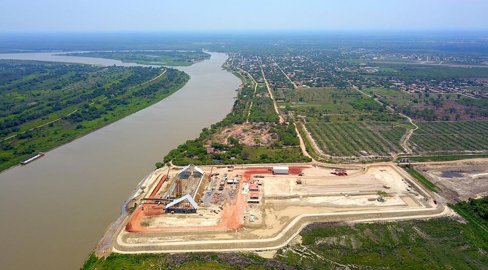 Terminal portuário do Grupo FV, de Dourados: importação de insumos. Foto: Edemir Rodrigues