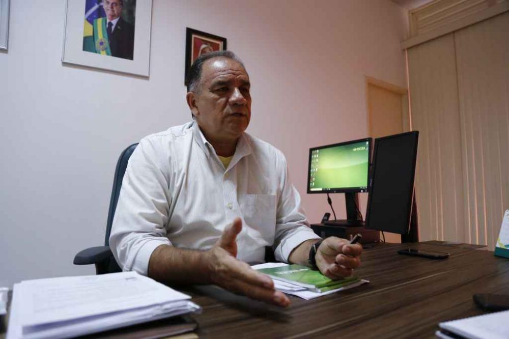 Antônio de Castro Vieira, superintendente do Incra, ressalta que serviços do órgão são gratuitos - Foto: Leonardo de França/Midiamax