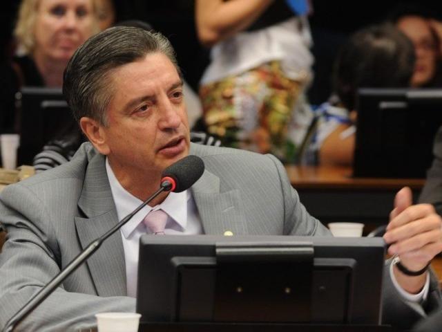 Deputado Dagoberto Nogueira durante audiência na Câmara (Foto: PDT/Divulgação)