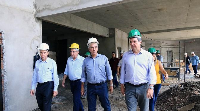 Governador Reinaldo Azambuja lança pacote de obras nesta sexta-feira