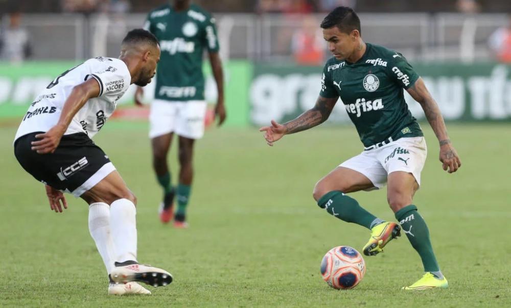 A última vitória do Palmeiras no Paulistão foi sobre o Guarani (Foto: Cesar Greco/Palmeiras)