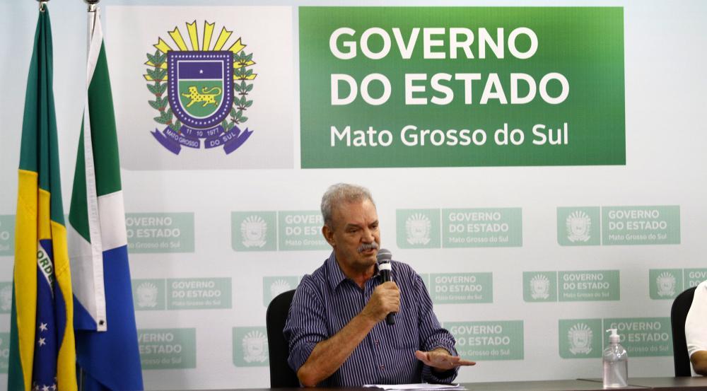 Geraldo Resende, secretário de Estado de Saúde