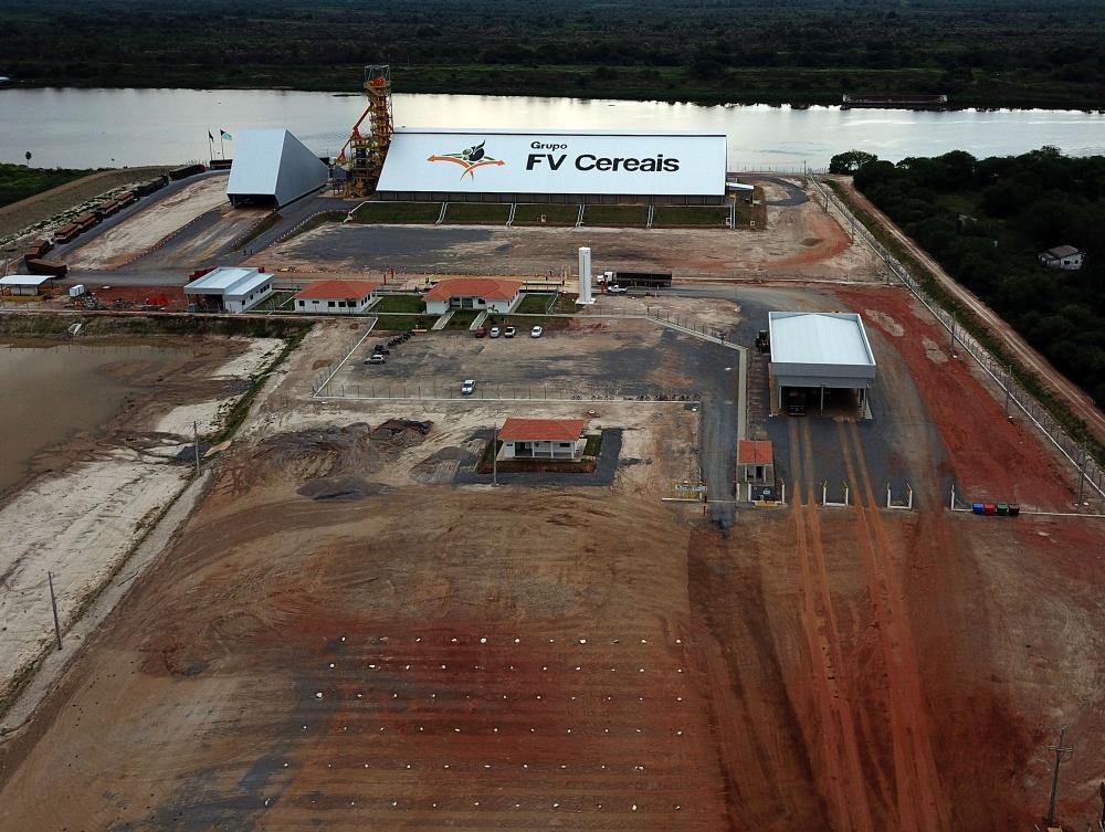 Novo terminal investirá mais R$ 20 milhões para dobrar a capacidade de armazenagem: 60 mil toneladas - Foto: Chico Ribeiro