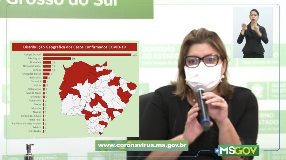 Secretária-adjunta de Saúde de Mato Grosso do Sul, Christinne Maymone