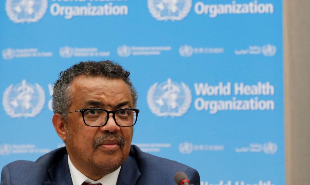 Tedros Adhanom, diretor-geral da Organização Mundial da Saúde (OMS)