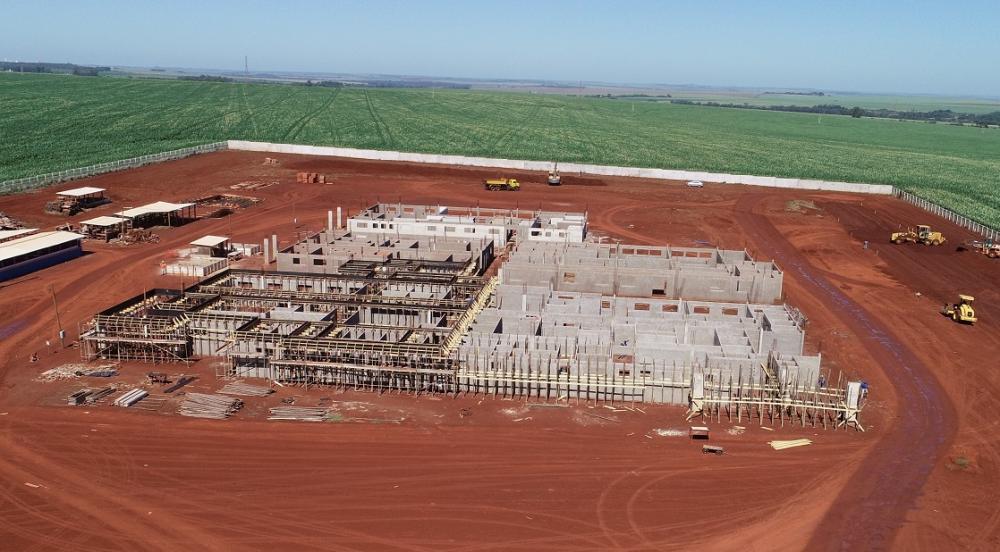 Hospital Regional de Dourados está em construção