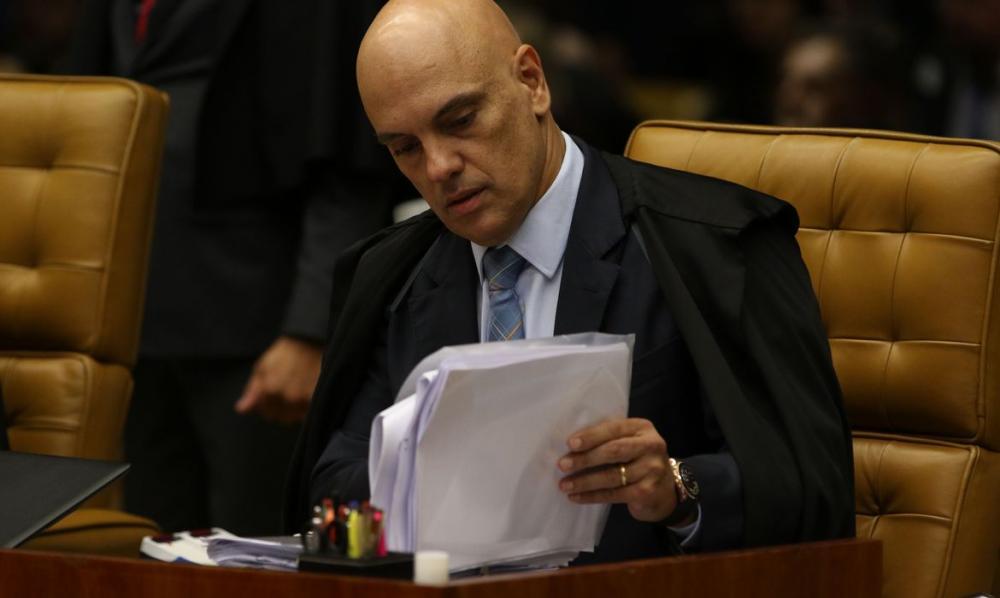 Ministro Alexandre de Moraes, do Supremo Tribunal Federal