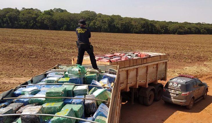 Agentes do DOF fizeram a maior apreensão de drogas do Brasil