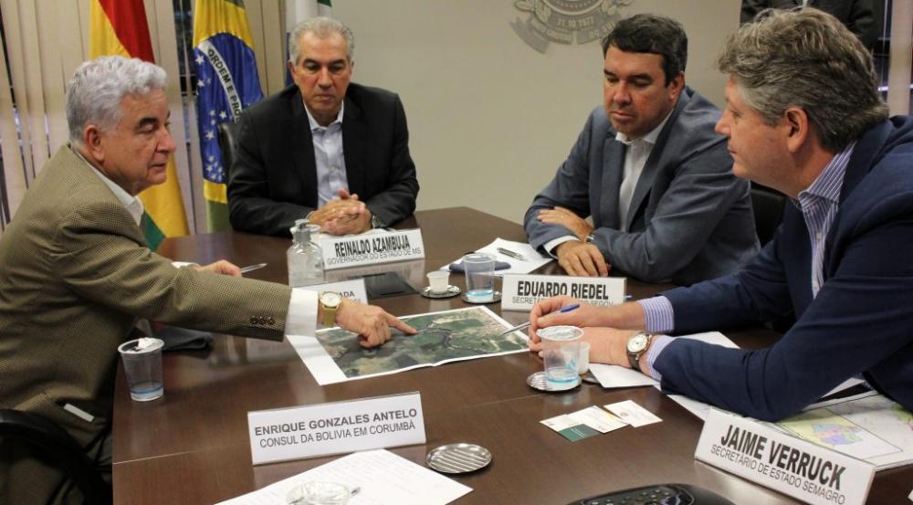 Compra direta de gás natural, estruturação da hidrovia Paraguai-Paraná e instalação da Ferrovia Transamericana são prioridades