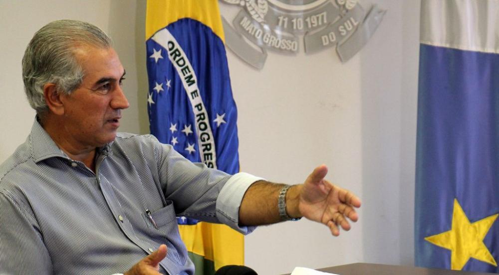 Governador Reinaldo Azambuja diz que decisão trouxe alívio para o Estado (Foto: Chico Ribeiro)