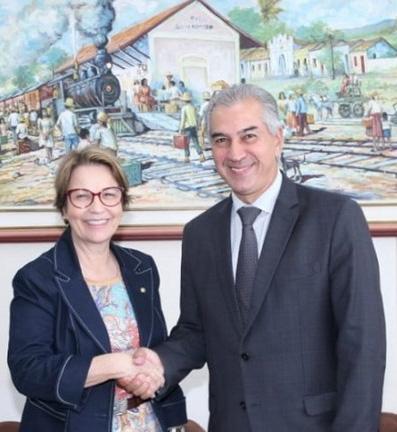 Ministra da Agricultura e governador participam de evento hoje em P.Porã