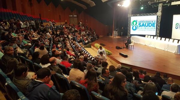 Na 9ª Conferência Estadual de Saúde, governo reafirma compromisso com a regionalização