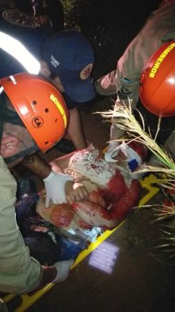 Violento acidente mata uma e deixa outra jovem ferida em P.Porã