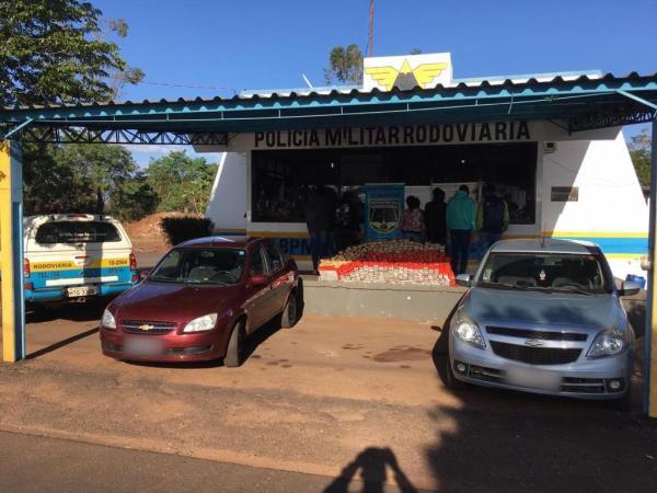 Polícia Militar Rodoviária prende quadrilha de traficantes