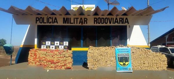 Polícia Rodoviária Estadual apreende 1,5 tonelada de maconha