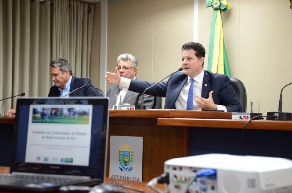 Renato Câmara implanta frente para efetivar o uso das unidades ambientais