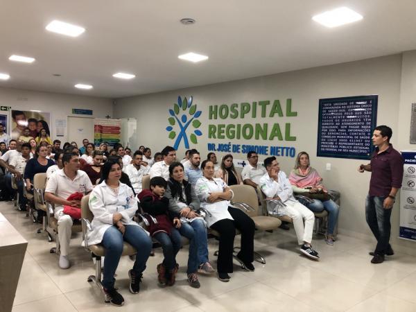 Reanimação cardiopulmonar é tema de capacitação no Hospital Regional de P.Porã