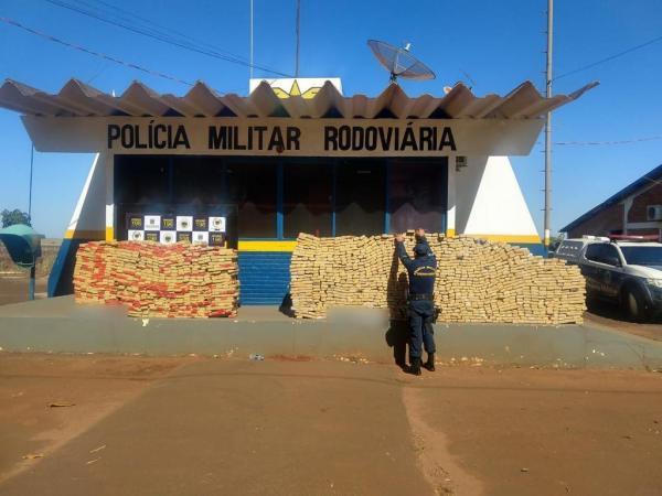 Polícia Militar Rodoviária apreende 37 toneladas de drogas e recupera 59 veículos
