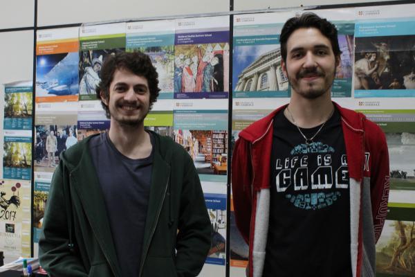 Acadêmicos, Lucas e Arthur, de Ciências da Computação da UEMS/Dourados
