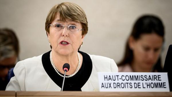 A alta comissária para os direitos humanos da Organização das Nações Unidas (ONU), Michelle Bachelet
