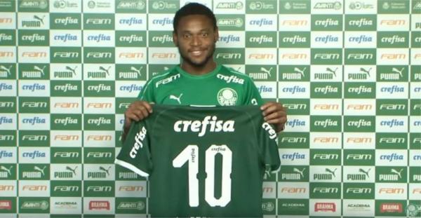 Com a camisa 10, Luiz Adriano é apresentado e exalta projeto do Palmeiras