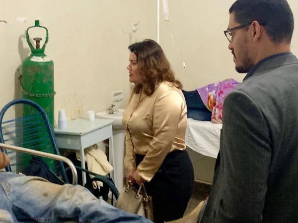 Defensoria encontra pacientes sem água e comida em hospital de Dourados