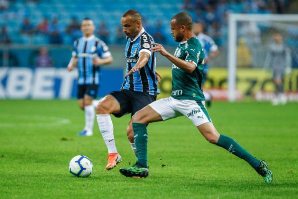Grêmio e Palmeiras se encontram no primeiro duelo das quartas da Libertadores