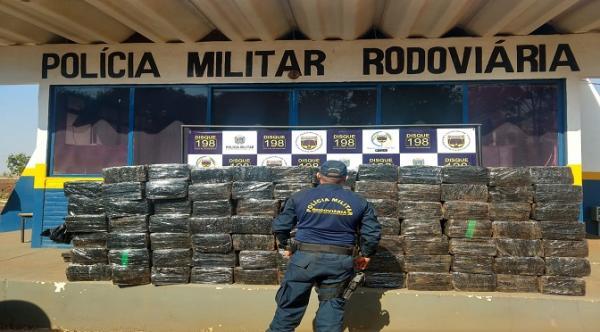 Sejusp fecha fronteira contra o tráfico e apreende cerca de sete toneladas de drogas