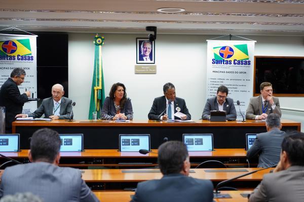 Frente parlamentar quer garantir refinanciamento de dívidas de Santas Casas