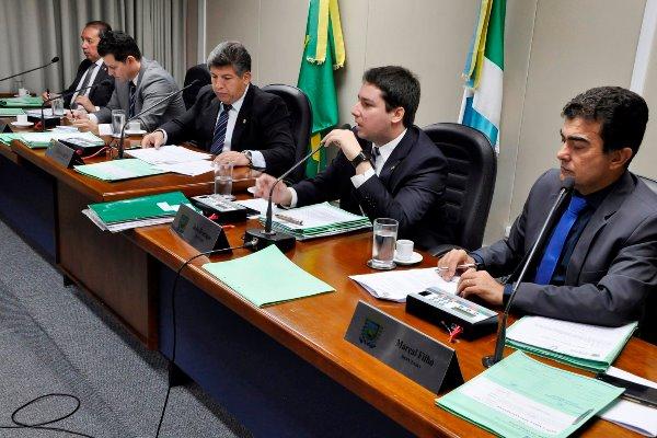 A reunião da CCJR aconteceu no Plenarinho Nelito Câmara - Foto: Luciana Nassar