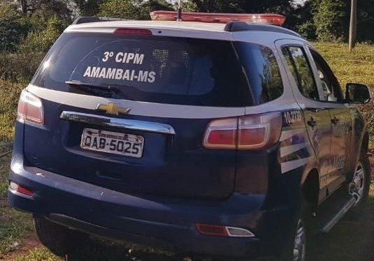 PM cumpre mandados de prisão em Amambai e em Coronel Sapucaia