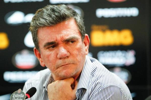 Andrés Sanchez poderá levar o caso para a Justiça caso não haja um novo acordo com a Caixa (Foto: Fernando Dantas/Gazeta Press)