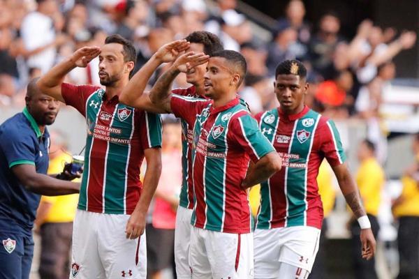 Fluminense ganhou o jogo com gol de Ganso e frango de Cássio