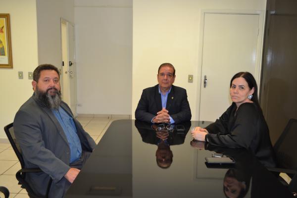 Delegado-Geral discute com o Ministério da Justiça ações integradas na fronteira