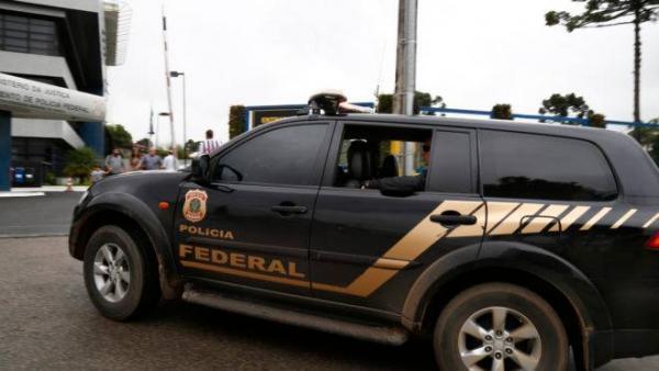 Operação da Polícia Federal foi realizada hoje pela manhã