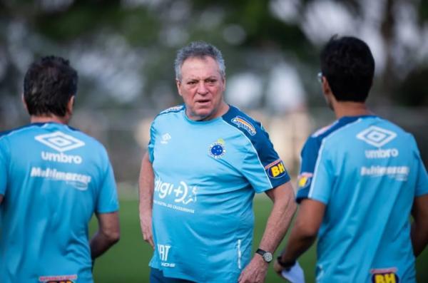 Neste domingo Abel Braga ganhou sua primeira partida no comando do Cruzeiro (Foto: Bruno Haddad/Cruzeiro)