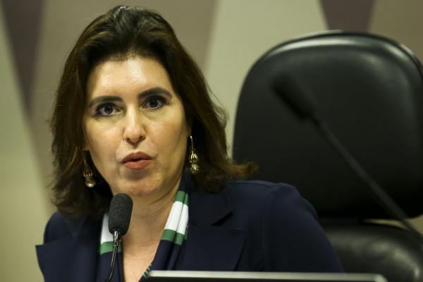 A presidente Comissão de Constituição e Justiça (CCJ) do Senado, Simone Tebet (MDB-MS)