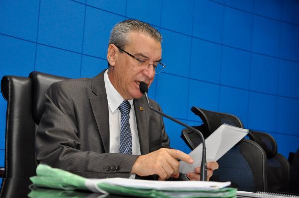 Presidente da Assembliea Legislativa, Paulo Corrêa (PSDB), durante sessão - Foto: Foto: Luciana Nassar / ALMS
