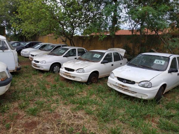Com lances a partir de R$ 500, leilão de veículos e sucatas é anunciado pela SAD