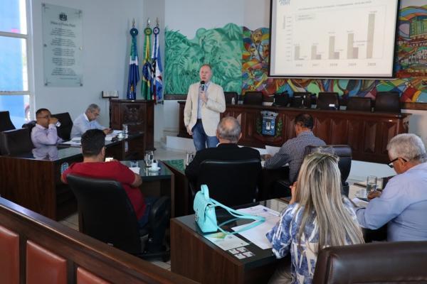 Projeto de Lei apresentado na Câmara Municipal prevê Orçamento de R$ 401 milhões para o ano que vem em Ponta Porã - Foto: Lécio Aguilera