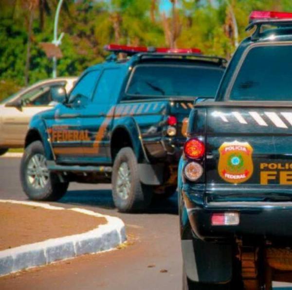 Investigações foram feitas pelos agentes de Polícia Federal