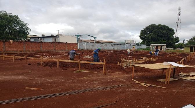Governo inicia construção da maternidade de Maracaju