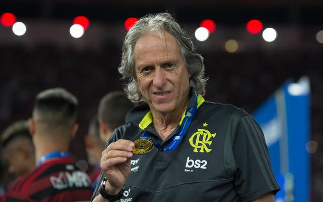 """Jorge Jesus afirma ter criado marca e cita estilo de jogo """"à Flamengo"""""""