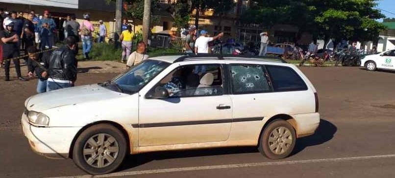 O crime foi registrado pelos organismos policiais nas primeiras horas da manhã desta sexta-feira na rua Marechal Floriano