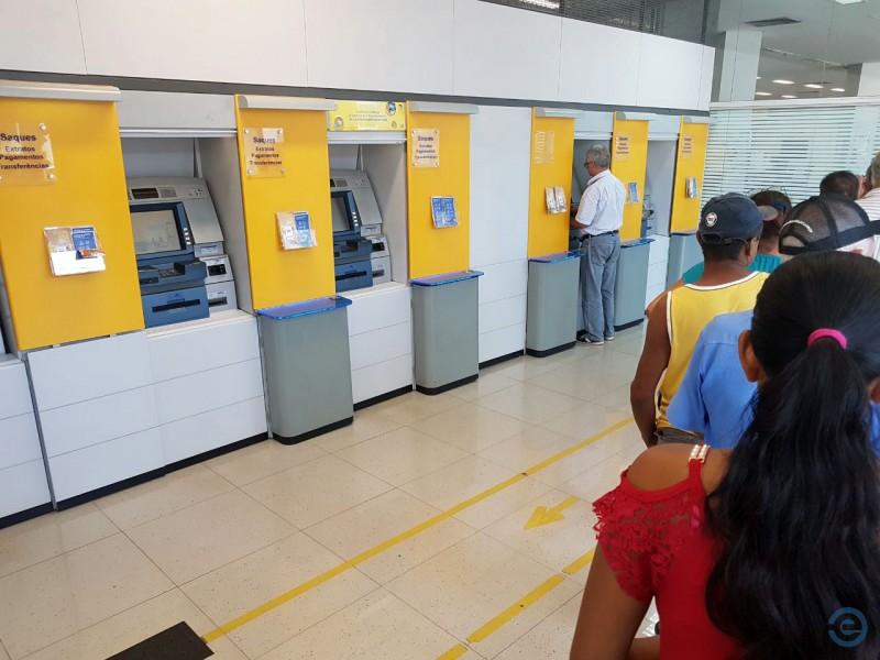 Trabalhadores que recebem pelo Banco do Brasil poderão sacar o benefício na quinta-feira