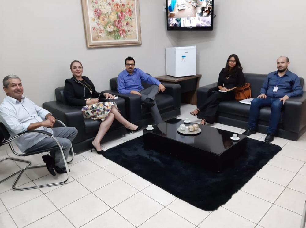 Reunião entre Câmara de Ponta Porã e representantes da UFGD para reativar Parlim aconteceu nesta terça-feira, 17 de dezembro - Foto: Assessoria CMPP