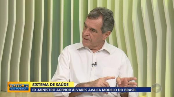 Ex-ministro da Saúde visita Teresina e avalia modelo do SUS