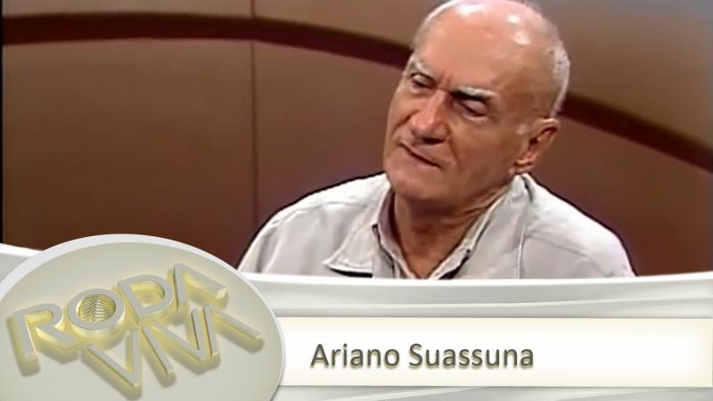Arquivo cultural: Ariano Suassuna no Programa Roda Viva- 06/05/2002